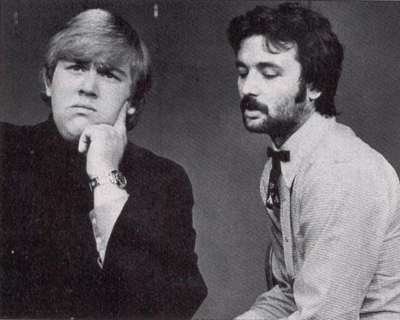 John Candy and Bill Murray working together at Second City.